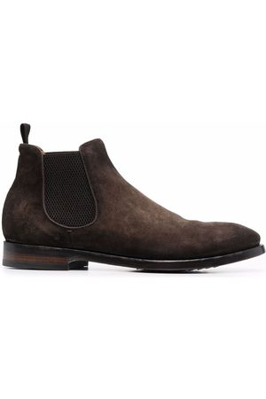 Officine creative Suede-leather ankle boots
