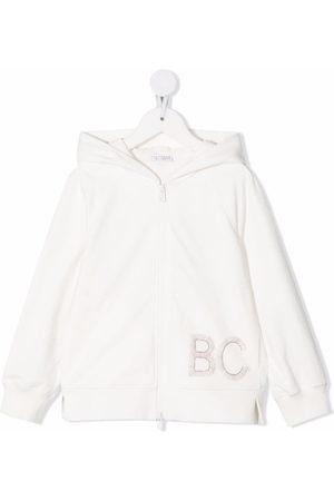 Brunello Cucinelli BC' logo hoodie