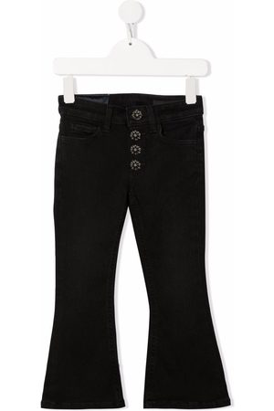 Dondup Logo-patch flared jeans