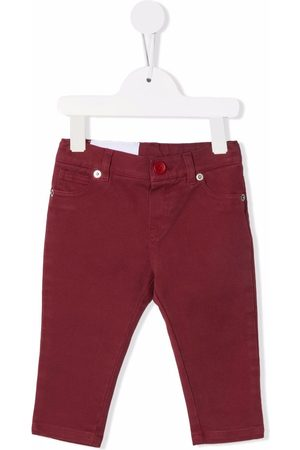 Dondup Slim - Burgundy slim cut jeans