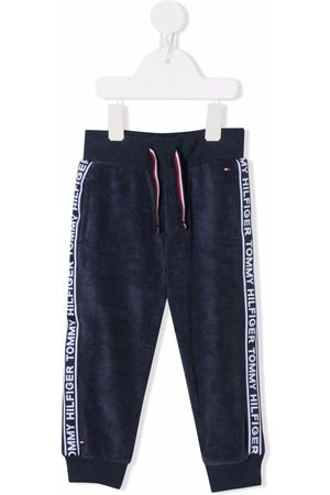 Tommy Hilfiger Baby Sweatpants - Logo-tape track trousers