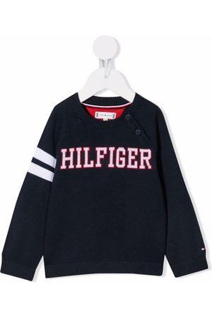 Tommy Hilfiger Sweaters - Intarsia-knit cotton jumper