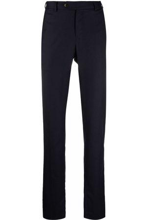 PT01 Men Skinny Pants - Skinny virgin wool-blend trousers