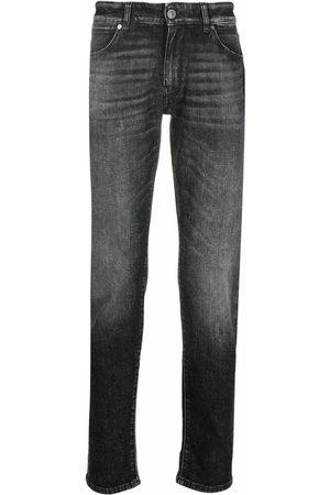PT01 Washed slim-cut jeans