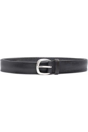 Orciani Soft leather belt - Grey