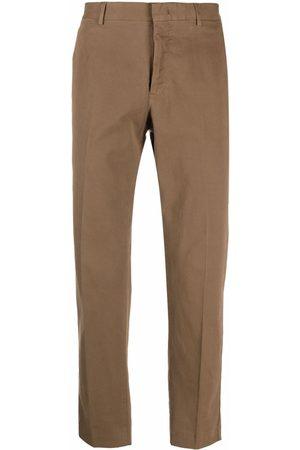 PT01 Men Stretch Pants - Straight stretch-cotton trousers
