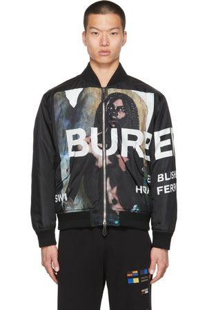 Burberry Mermaid Print Bomber Jacket