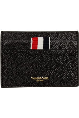 Thom Browne Men Wallets - Black Single Card Holder