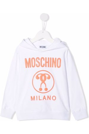 Moschino Logo-print hoodie