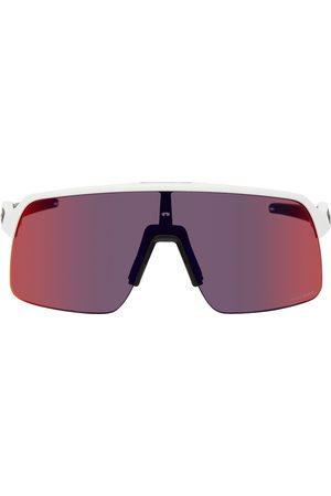 Oakley White Sutro Lite Sunglasses