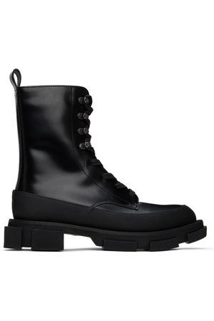 BOTH Men Boots - Black High Gao Boots