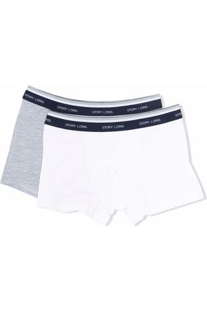 Story Loris Boys Boxer Shorts - Logo two-pack boxer set