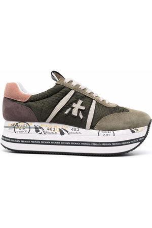Premiata Beth platform-sole sneakers