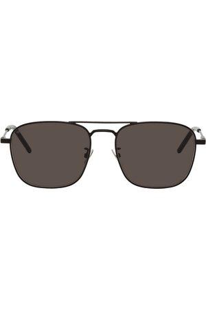 Saint Laurent Women Aviators - Black SL 309 Aviator Sunglasses