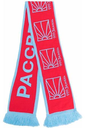 PACCBET Logo-print scarf