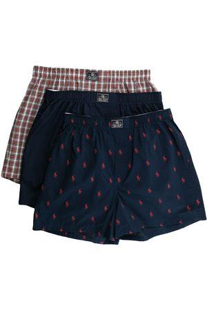 Polo Ralph Lauren Men Boxer Shorts - Logo patch cotton boxers set of 3