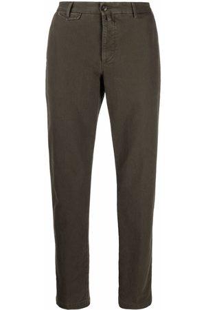 BRIGLIA Men Chinos - Cropped chino trousers