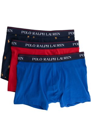 Polo Ralph Lauren Logo-embroidered cotton boxers set of 3