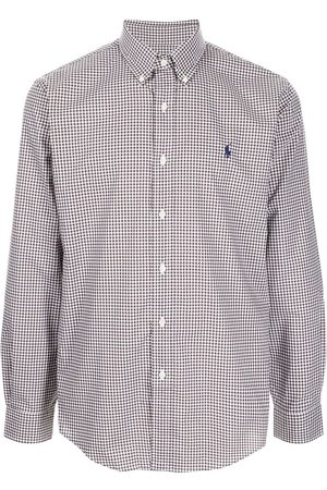 Polo Ralph Lauren Men Shirts - Logo-embroidered check-print cotton shirt