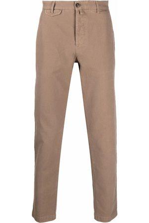 BRIGLIA Men Chinos - Cropped chino trousers - Neutrals