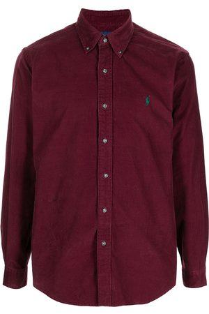 Polo Ralph Lauren Men Shirts - Embroidered-logo cotton shirt
