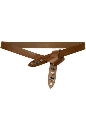 Isabel Marant Tan Leather Lecce Belt