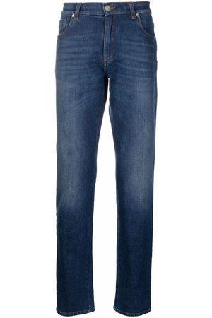 BILLIONAIRE Men Straight - Embroidered lion jeans