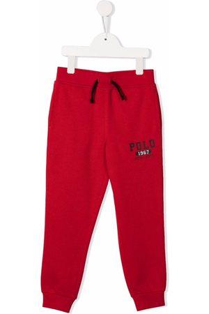 Ralph Lauren Logo-print drawstring track pants