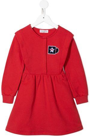 Sonia Rykiel Enfant Chest logo-patch dress