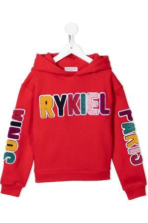 Sonia Rykiel Enfant Logo-patch hoodie