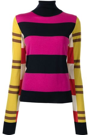 Colville Stripe-print roll-neck jumper - Multicolour