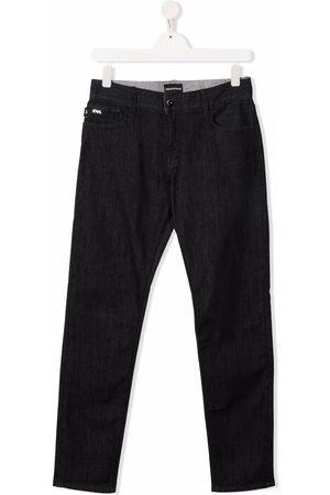 Emporio Armani Straight - TEEN straight-leg jeans