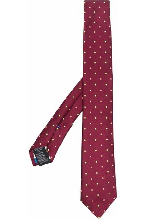Paul Smith Polka-dot embroidered tie