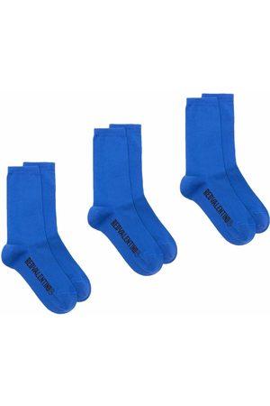 RED Valentino Three pair socks