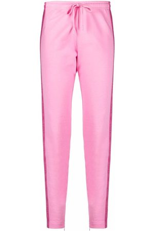 Love Moschino Tapered side-stripe track trousers