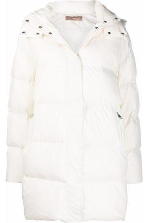 12 STOREEZ Padded belted coat