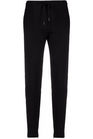 Love Moschino Logo-tape cotton track trousers