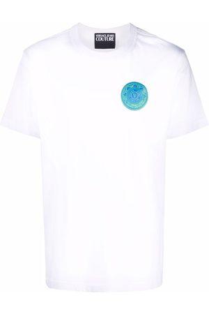 VERSACE Men T-shirts - Logo-print cotton T-shirt