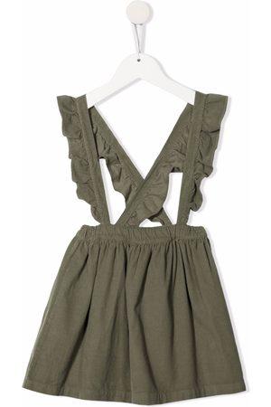 Babe And Tess Girls Casual Dresses - Ruffle-trim dress