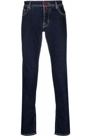 Jacob Cohen Contrast-stitch skinny jeans