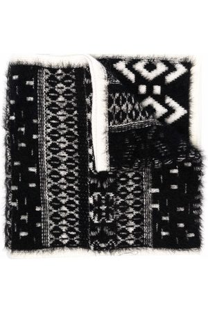 Moncler Enfant Intarsia-pattern scarf