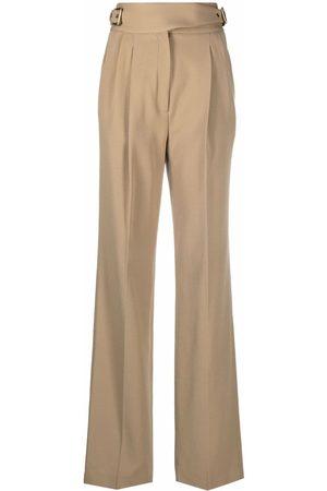 Michael Kors Buckled-waist trousers - Neutrals