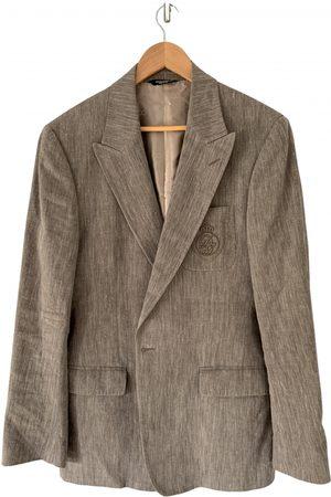 Dolce & Gabbana Men Gilets - Linen vest
