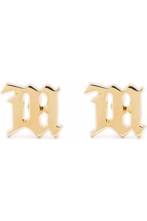 MISBHV Tone monogram earrings