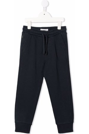 Woolrich Boys Skinny Pants - Drawstring waistband slim-cut trackpants