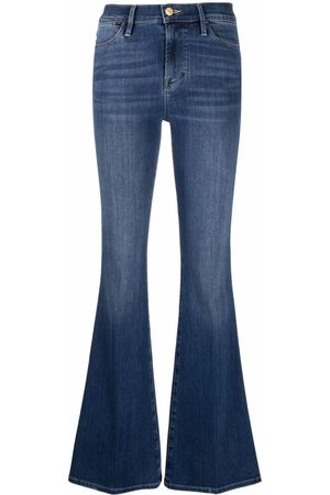 Frame Women Flares - Flared mid-rise jeans