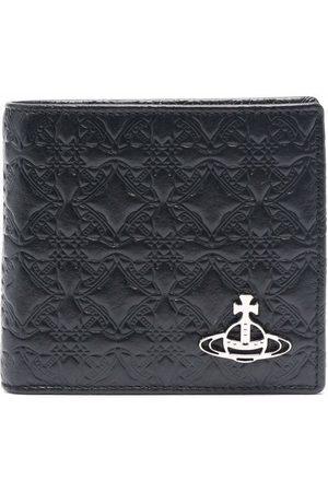 Vivienne Westwood Orb plaque embossed wallet