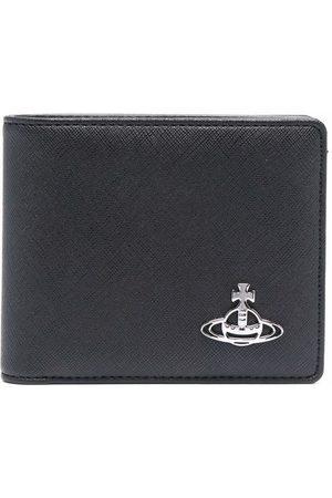 Vivienne Westwood Orb plaque faux-leather wallet