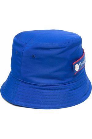 Alexander McQueen Logo-patch bucket hat