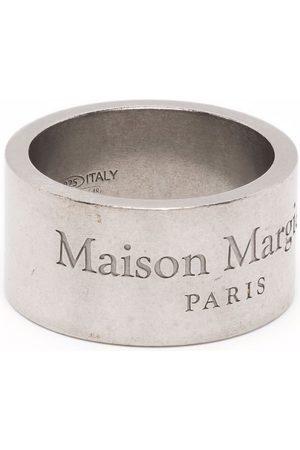 Maison Margiela Logo-engraved ring